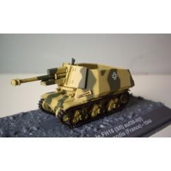 10.5 cm le.FH18 (Sfl) auf39-H(f) 21.Pz.Div. Normandie (France)- 1944