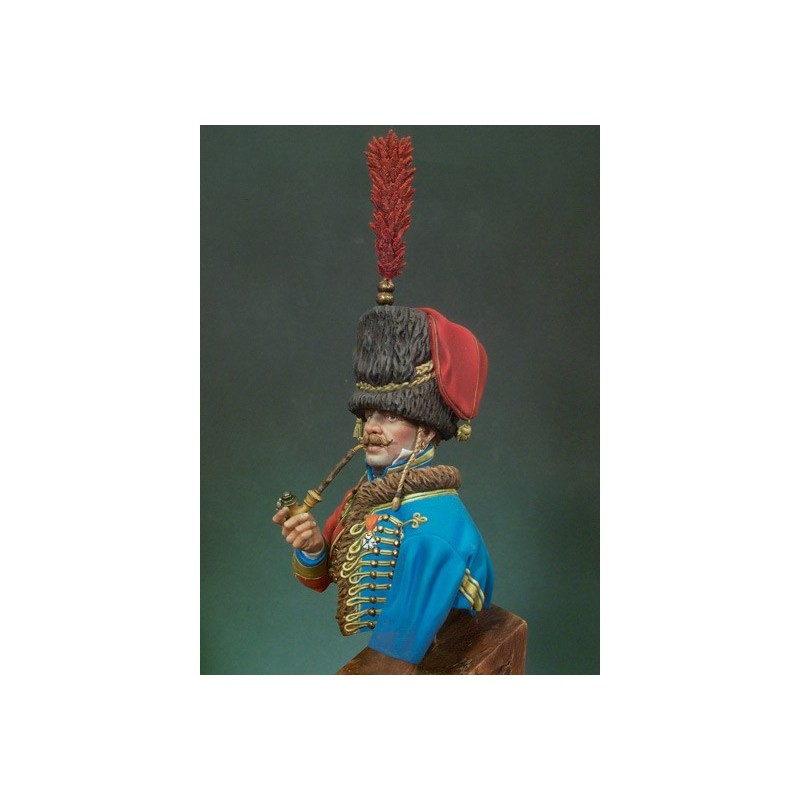 FRENCH HUSSAR OFFICER (1810-1812)