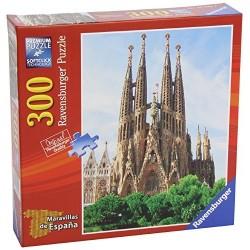 RAVENSBURGER MARAVILLAS DE ESPAÑA_ LA SAGRADA FAMILIA_ PUZZLE 300 piezas.