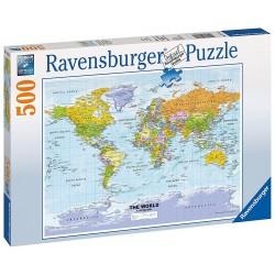 RAVENSBURGER_ MAPA POLITICO. PUZZLE 500 piezas.