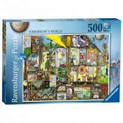 RAVENSBURGER_ TOMORROW'S WORLD. PUZZLE 500 piezas.