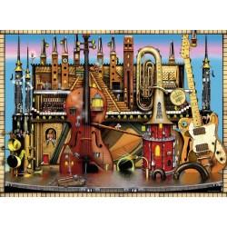 RAVENSBURGER_ EL CASTILLO DE LA MUSICA. PUZZLE 500 piezas.
