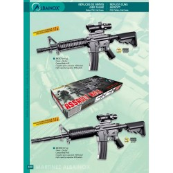 AIRSOFT GUN ASSAULT RIFLE_ 74m/s