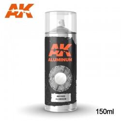 AK_ PINTURA EN SPRAY COLOR ALUMINIO 150 ml.