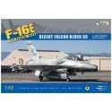KINETIC_ F-16E BLOCK 60 DESERT FALCON_ 1/48