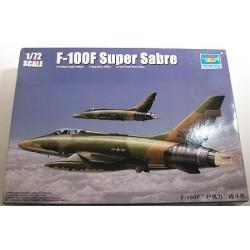 TRUMPETER_ F-100F SUPER SABRE_ 1/72