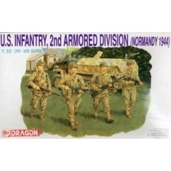 DRAGON_ US INFANTRY, 2nd ARMORED DIVISION (NORMANDY 1944)_ 1/35