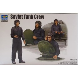 TRUMPETER_ SOVIET TANK CREW_ 1/35