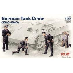 ICM_ GERMAN TANK CREW (1943-1945)_ 1/35
