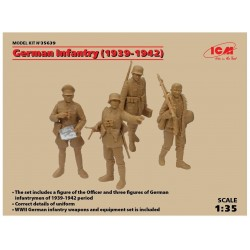 ICM_ GERMAN INFANTRY (1939-1942)_ 1/35