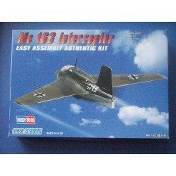 HOBBY BOSS_ ME 163 INTERCEPTOR (EASY KIT)_ 1/72