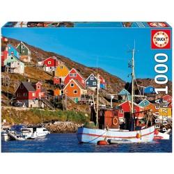 Educa 17745_ Casas Nordicas Puzzle 1000 piezas