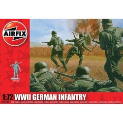 AIRFIX_ WWII GERMAN INFANTRY_ 1/72
