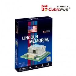 CUBIC FUN_ LINCOLN MEMORIAL, 3D PUZZLE