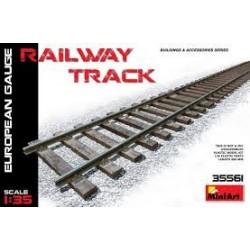 MINIART_ RAILWAY TRACK (EUROPEAN GAUGE)_ 1/35