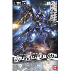 BANDAI_ MCGILLIS'S SCHWALBE GRAZE IRON-BLOODED ORPHANS_ 1/100