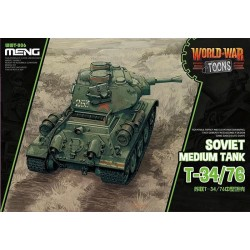 MENG_ WORLD WAR TOONS_ T-34/76 SOVIET MEDIUM TANK