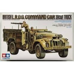 TAMIYA_ BRITISH LRDG COMMAND CAR. 30CWT TRUCK_ 1/35