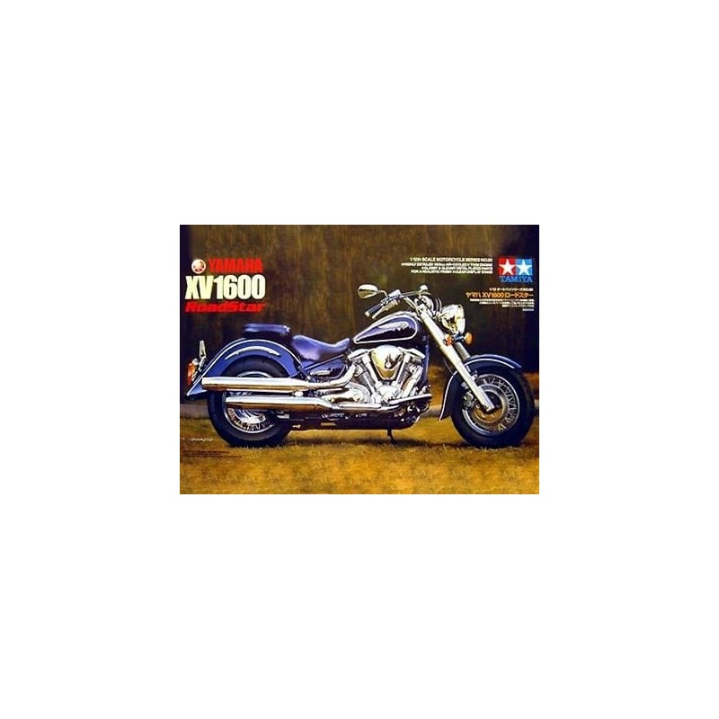 Tamiya_ Yamaha XV 1600 Roadstar_ 1/12 caja