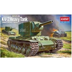 ACADEMY_ KV-2 HEAVY TANK_ 1/35