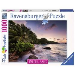 RAVENSBURGER _ ISLA DE PRASLIN PUZZLE 1000 piezas.