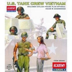 ACADEMY_ US TANK CREW VIETNAM_ 1/35