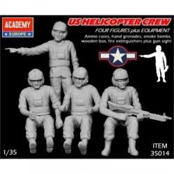 ACADEMY_ US HELICOPTER CREW VIETNAM_ 1/35