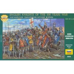 ZVEZDA_ ENGLISH KNIGHTS OF THE 100 YEARS WAR_ 1/72