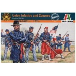 ITALERI_ UNION INFANTRY AND ZOUAVES. AMERICAN CIVIL WAR_ 1/72