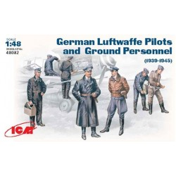 ICM_ GERMAN LUFTWAFFE PILOTS AND GROUND PERSONAL, 1939-1945_ 1/48