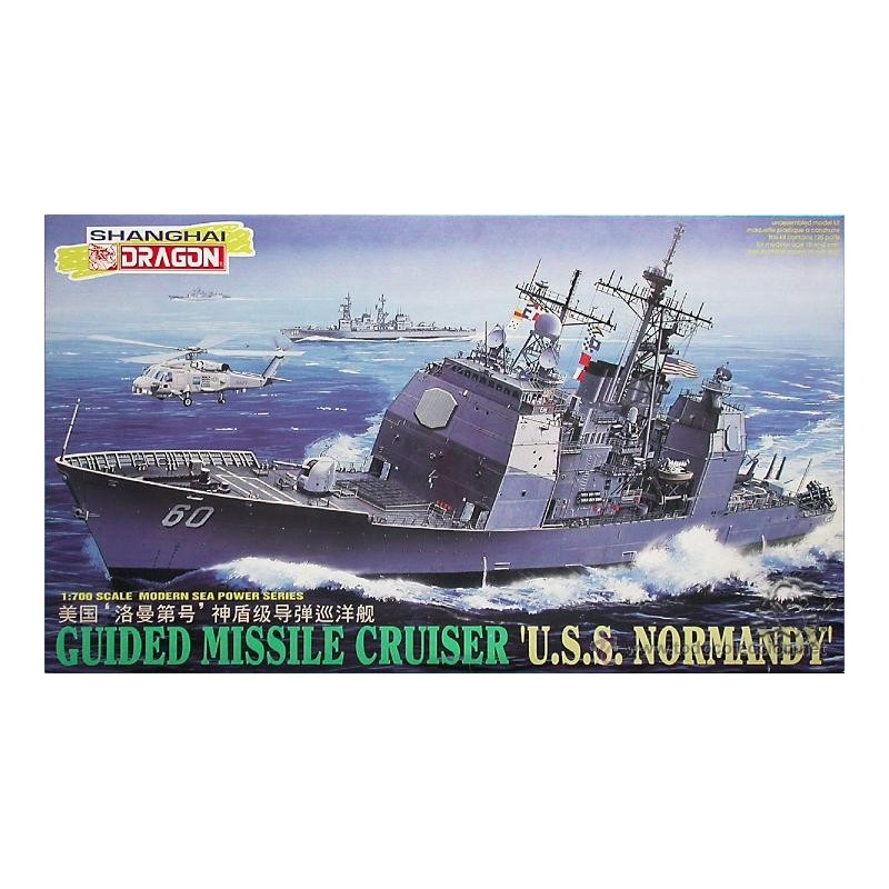 GUIDED MISSILE CRUISER  U.S.S. NORMANDY