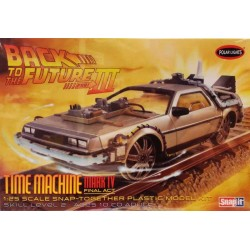 POLAR LIGHTS_ TIME MACHINE. BACK TO FUTURE III_ 1/25