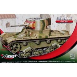 """MIRAGE HOBBY_ US LIGHT TANK M3 """"TUNISIA 1943""""_ 1/72"""