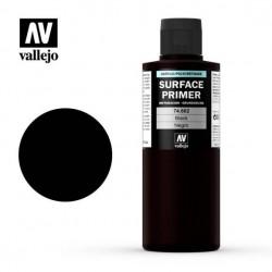 Vallejo Surface Primer_ Imprimación Negro 200ml.