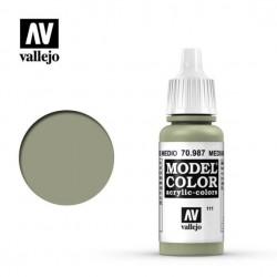 Vallejo Model Color 70987_ Gris Medio (111)