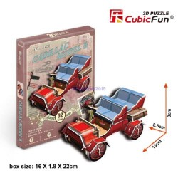 CUBIC FUN_ANTIQUE AUTOMOBILE 3, 3D PUZZLE