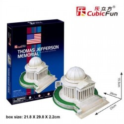 CUBIC FUN_ THE BRANDENBURG GATE, 3D PUZZLE