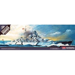 Academy_ Bismarck, German Battleship_ 1/800