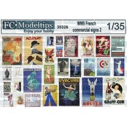 CARTELES COMERCIALES FRANCESES (SET Nº2)