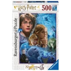 Ravensburger 14821_  Harry Potter en Hogwarts. Puzzle 500 piezas.