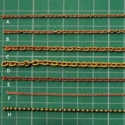 NAVAL_ CADENA DE LATON tipo B. 3,5mm.