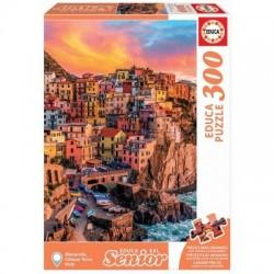 Educa Senior XXL_Cinque Terre (Italia). Puzzle de 300 piezas