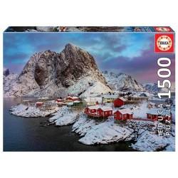 Educa 17976_ Islas Lofoten, Noruega. 1500 piezas