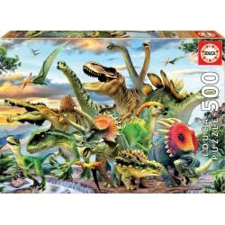 EDUCA PUZZLE_ UNICORNIOS EN EL BOSQUE. 500 piezas.