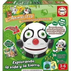 EDUCA_ JUEGO INTERACTIVO.LOS ANIMALISTOS . EL CONEJO MATT.