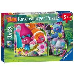 RAVENSBURGER_ COMO ENTRENAR A TU DRAGON. PUZZLE 3 x 49 piezas