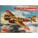ICM_ SB 2M-100 KATIUSHKA. SPANISH AIR FORCE BOMBER_ 1/72