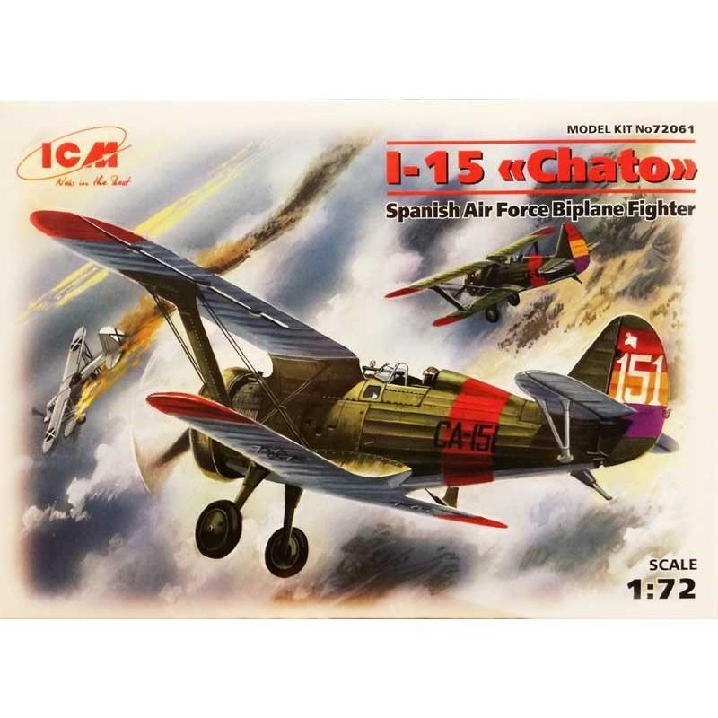 ICM_ I-15 CHATO (VERSION ESPAÑOLA)_ 1/72