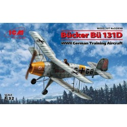 ICM_ HEINKEL HE 51B-1. SPANISH AIR FORCE BIPLANE FIGHTER_ 1/72