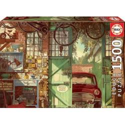 Educa 18005_ Viejo Garaje_ Puzzle 1500pcs.